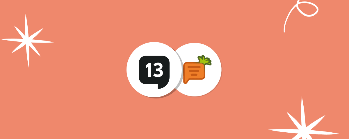 13Chats is a fully-featured alternative to Carrot quest